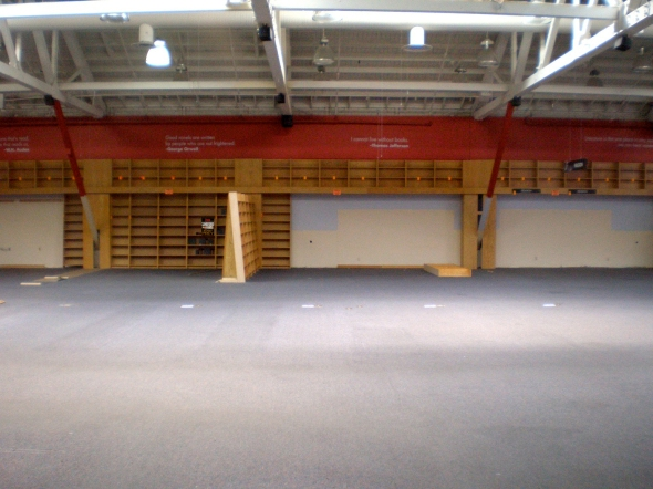 Borders Bookstore (empty)