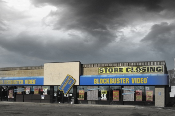 Blockbuster closed