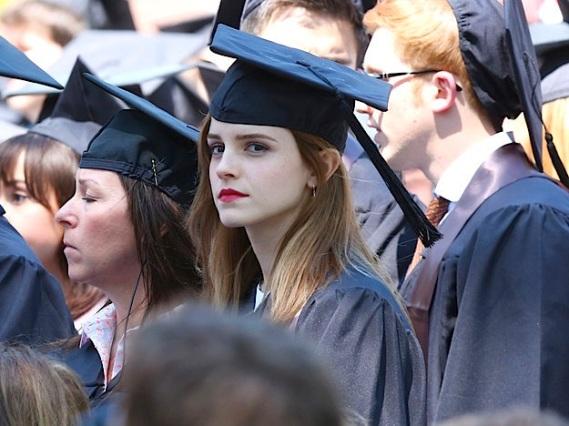 Emma graduate