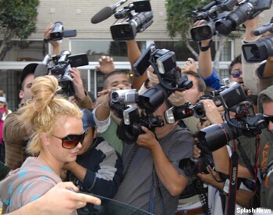 Britney & paparazzi